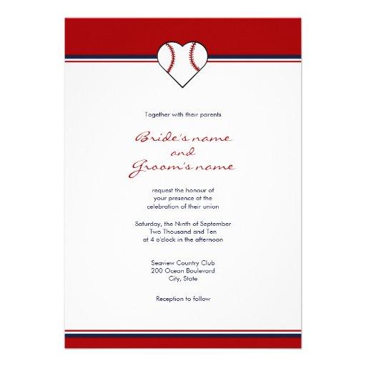Baseball Themed Wedding Invitations for perfect invitations layout