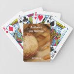 Baseball Themed Bar Mitzvah Bicycle Playing Cards