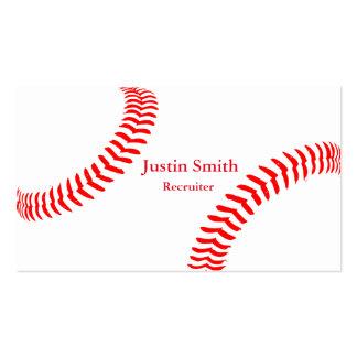 Baseball Themed Business Cards