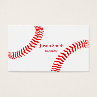 Baseball Themed Business Cards