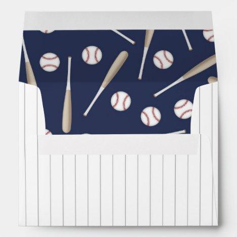 Baseball themed envelopes