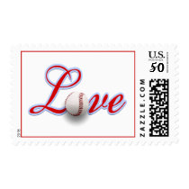 Baseball Themed Wedding Love Sports Themed Wedding Postage