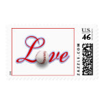 Baseball Themed Wedding Sports Themed Wedding Postage Stamps