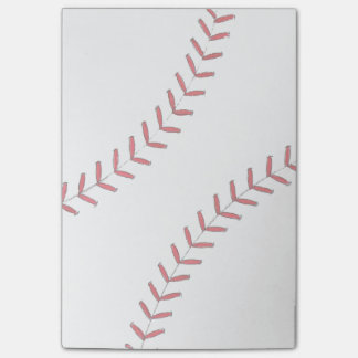 Baseball Threads Post-it Notes