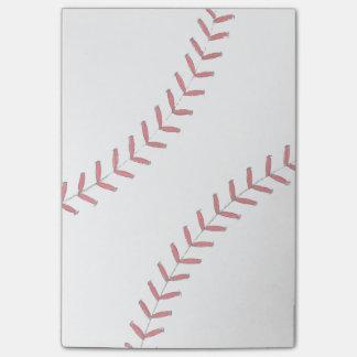 Baseball Threads Post-it® Notes