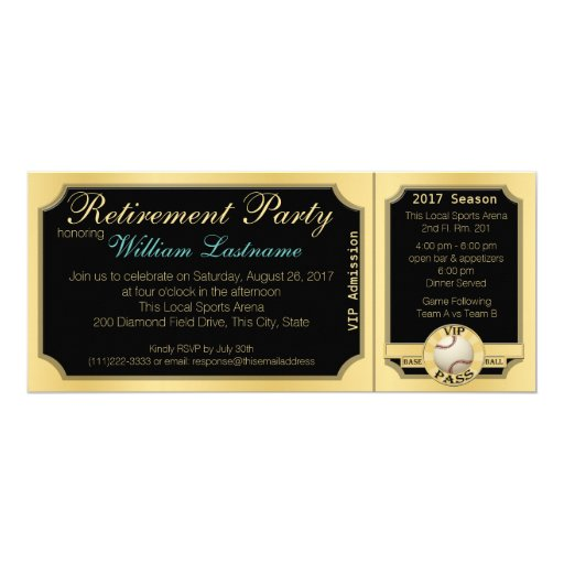 Invitation Cards For Retirement Party was adorable invitation ideas