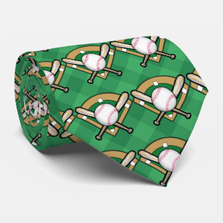 Baseball Tie - Wear It On Game Day!