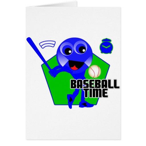 Baseball Time Cards