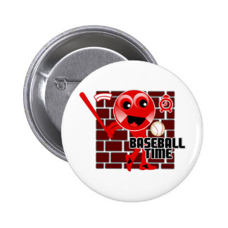 Baseball Time Pin