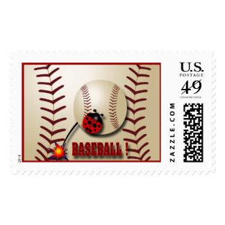 Baseball Time Postage