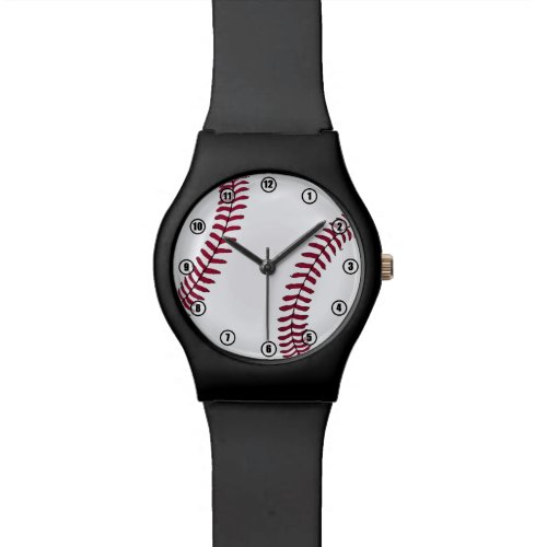 Baseball Time Watch