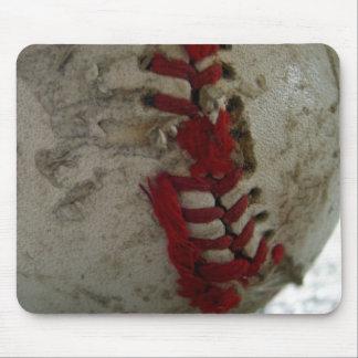 Baseball Torn Mouse Pad
