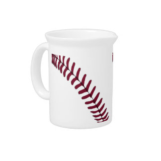 Baseball Tread Drink Pitcher