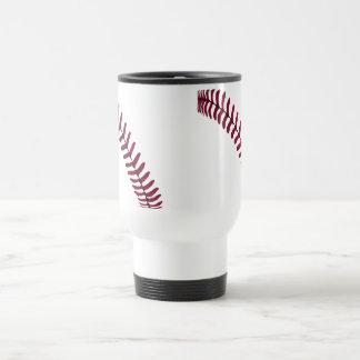 "Baseball ""Tread"" Travel Mug"