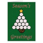 Baseball Tree Card