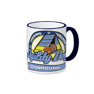 Baseball Treeing Walker Coonhound Agility Ringer Coffee Mug
