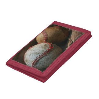 Baseball Tri-fold Wallet