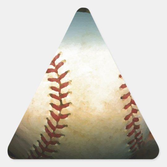 Baseball Triangle Sticker