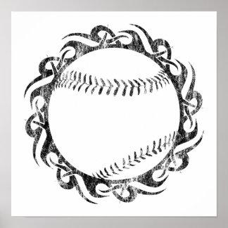 baseball : tribalz poster