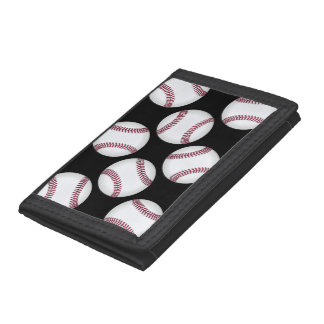 Baseball Trifold Wallet