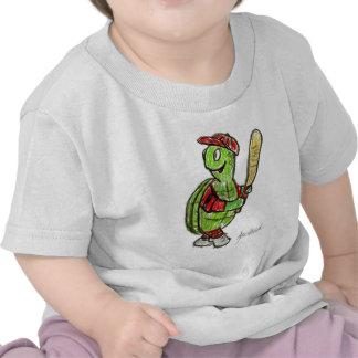 Baseball Turtle.jpg Tshirts