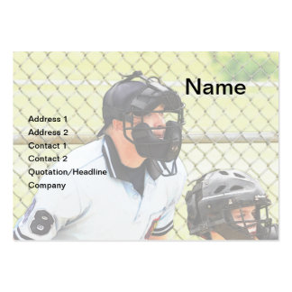 baseball umpire business card template