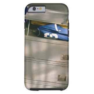Baseball uniform and equipment in locker tough iPhone 6 case