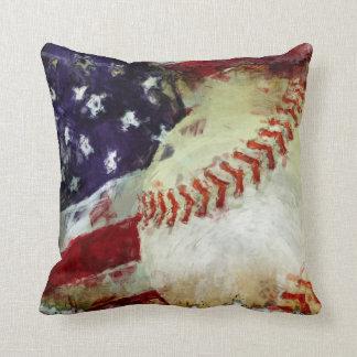 Baseball USA Pillow