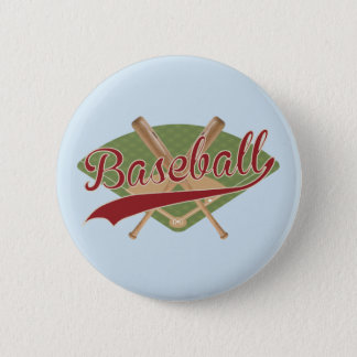 Baseball vintage look button