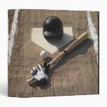 Baseball Vinyl Binder