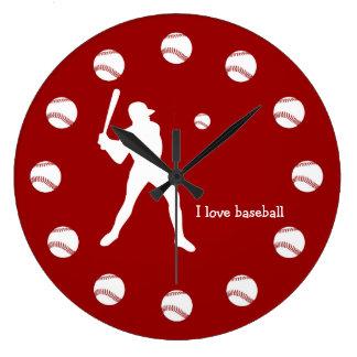 Baseball Wall Clocks