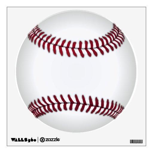 Baseball Wall Decal  Zazzle