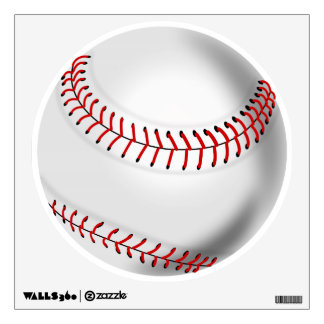 BASEBALL WALL STICKER