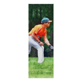 Baseball - Warming Up Before the Game Print