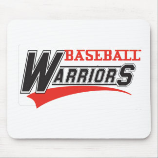 baseball warriors design mouse pad