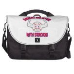 Baseball Was Better With Steriods! Laptop Commuter Bag