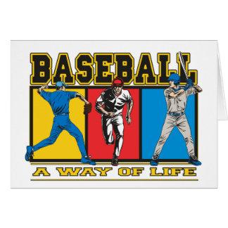 Baseball Way of Life Card