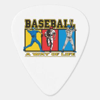 Baseball Way of Life Guitar Pick