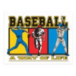 Baseball Way of Life Post Cards