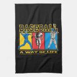 Baseball Way of Life Towels