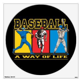 Baseball Way of Life Wall Decal