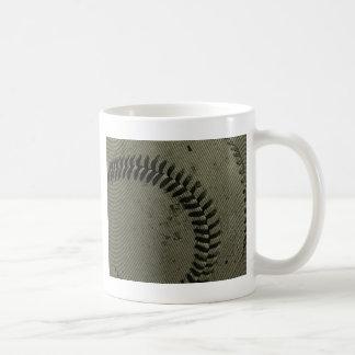 baseball weave coffee mug