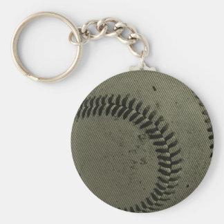 baseball weave keychain