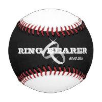 Baseball wedding ring bearer gift idea for boy