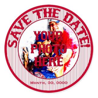 Baseball Wedding Save-The-Date-Template 01 Card