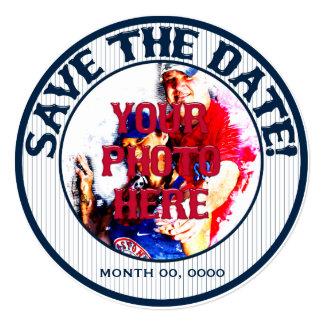 Baseball Wedding Save-The-Date-Template 02 Card