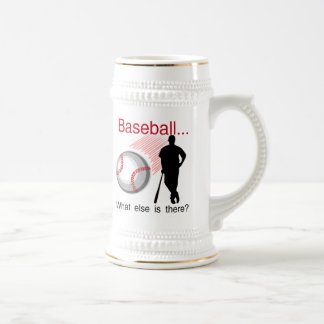 Baseball What Else T-shirts and Gifts Beer Stein