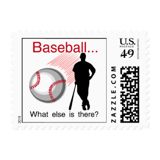 Baseball What Else T-shirts and Gifts Postage Stamp