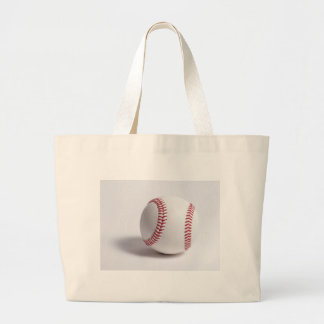 Baseball White Tote Bags