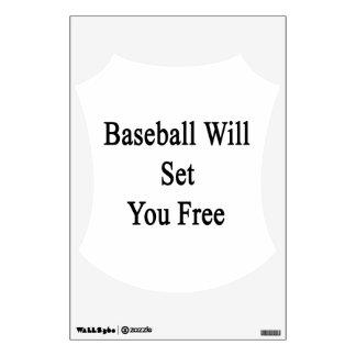 Baseball Will Set You Free Room Graphics